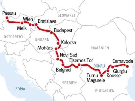 MS ALBERTINA Langstrecke Donau