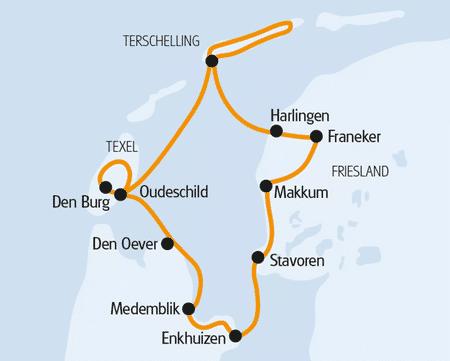 Karte LEAFDE FAN FRYSLÂN