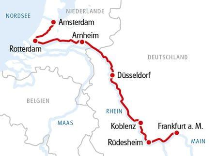 MS SE-MANON Frankfurt - Amsterdam 2021