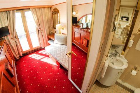 1 bed cabin upper deck, MS PRINZESSIN KATHARINA