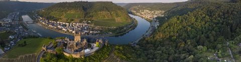 View over Cochem