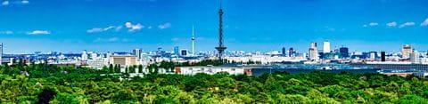 Panorama-Blick über Berlin