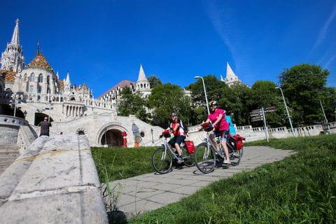 Radtour zur Fischerbastei in Budapest