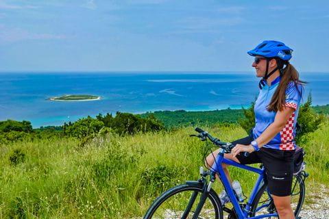 Radtour auf der Insel Dugi Otok
