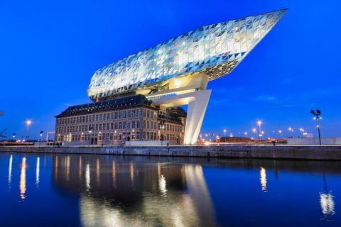 Antwerpen, Hafenhaus