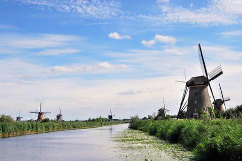 Die Windmühlen von Kinderdijk, UNESCO-Weltkulturerbe