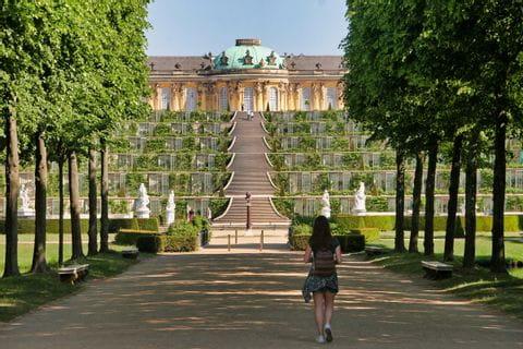 Schloss Sanssouci, Potsdam, UNESCO-Weltkulturerbe