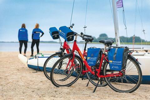 SE-Tours Räder am Strand