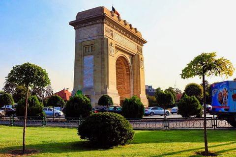 Bukarest, Arc de Triomphe