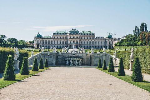 Wien, Schloss Bellevue, UNESCO-Weltkulturerbe