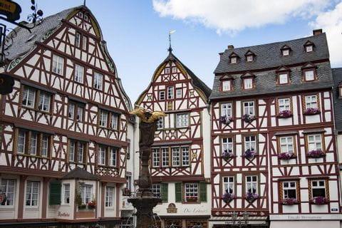 Fachwerkhäuser in Bernkastel-Kues