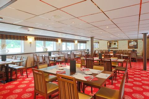Restaurant, MS NORMANDIE
