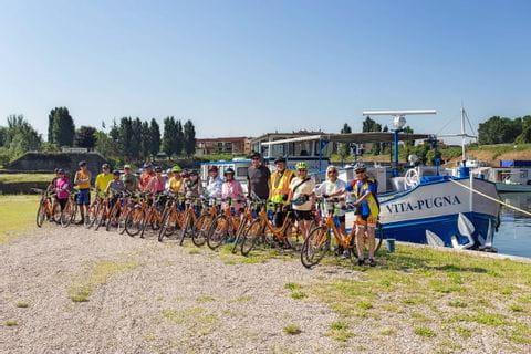 Rad und Schiff in Italien mit der MS VITA PUGNA