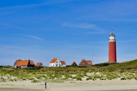 Leuchtturm auf der Insel Texel