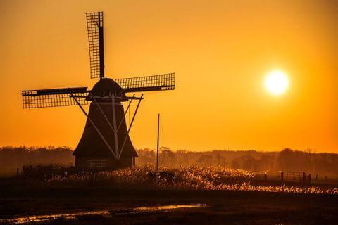 Abendstimmung in Friesland