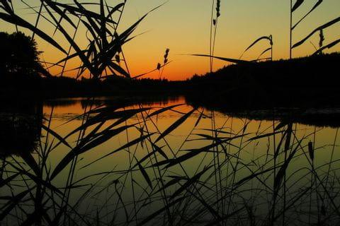 Sonnenuntergang in Masuren