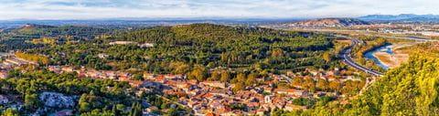 Blick über die Provence