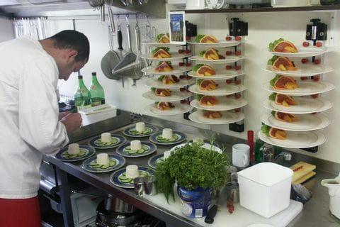 Küche, MS MECKLENBURG