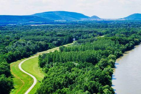 Donau-Radweg in der Slowakei