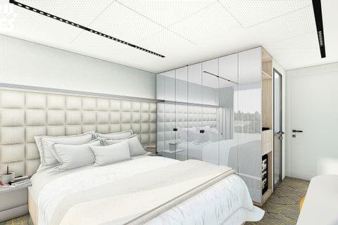 2 bed cabin, MS ALBERTINA
