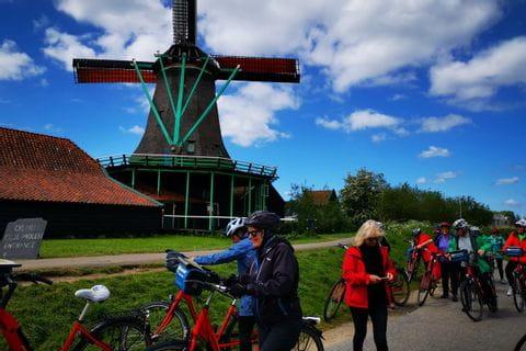 Historical windmill, Netherlands