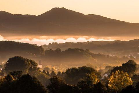 Sonnenaufgang bei Bonn