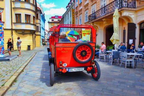Altstadt Bratislava, Oldtimer Tour