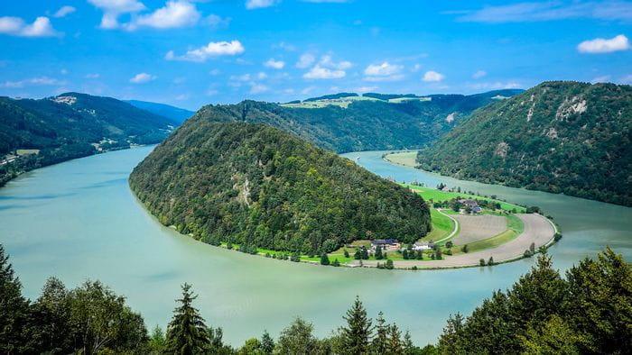 Schlögener Schlinge, Danube