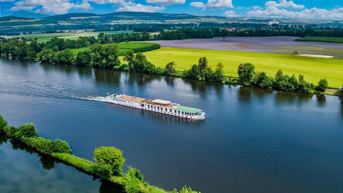 Rad und Schiff in Tschechien