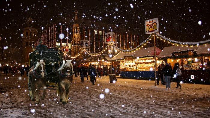 Weihnachtsmarkt-Stimmung